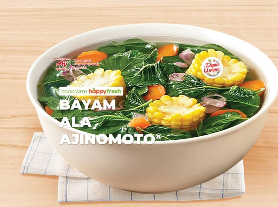 resep sayur bayam
