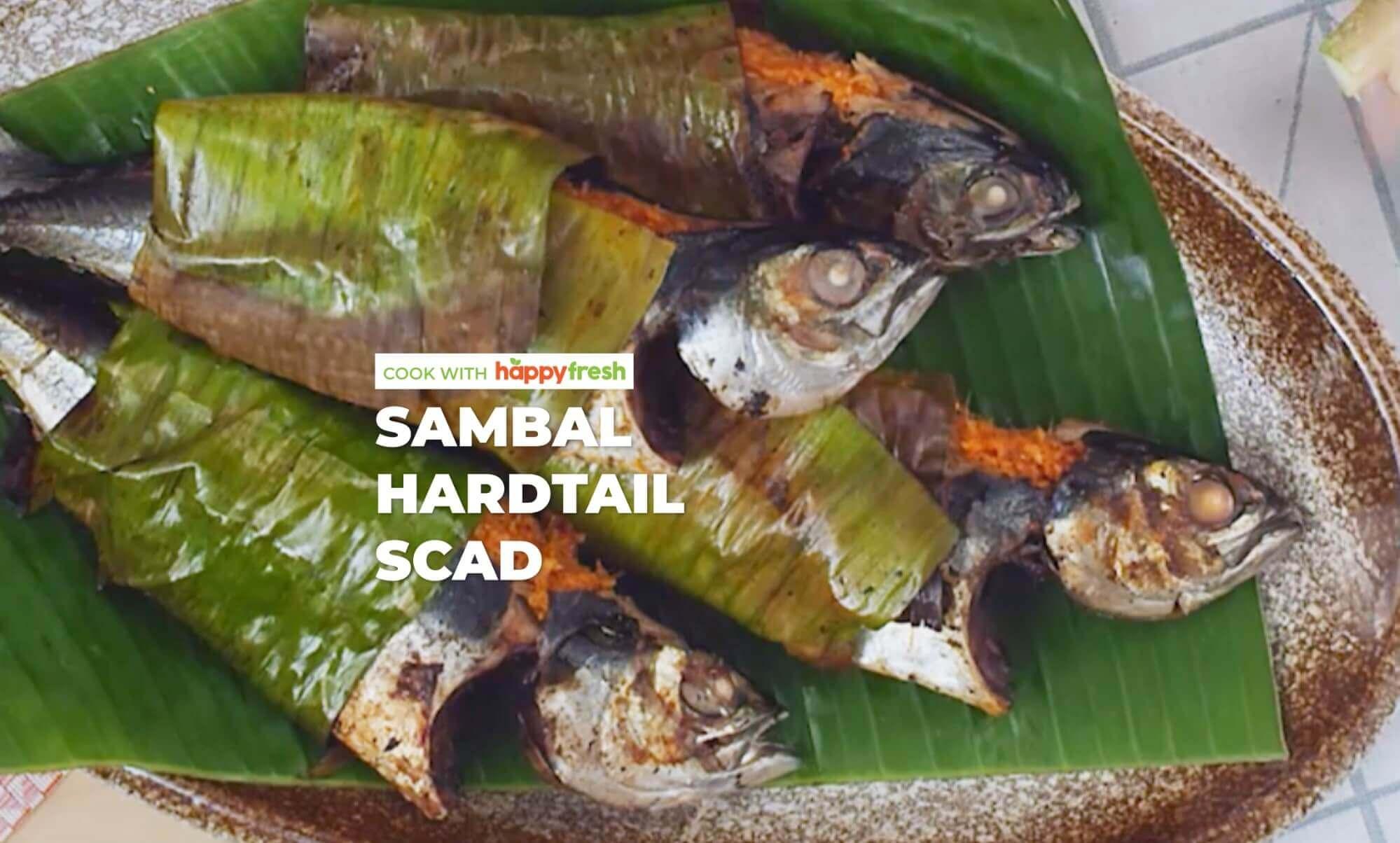 Sambal Hardtail Scad (Cencaru Fish) recipe