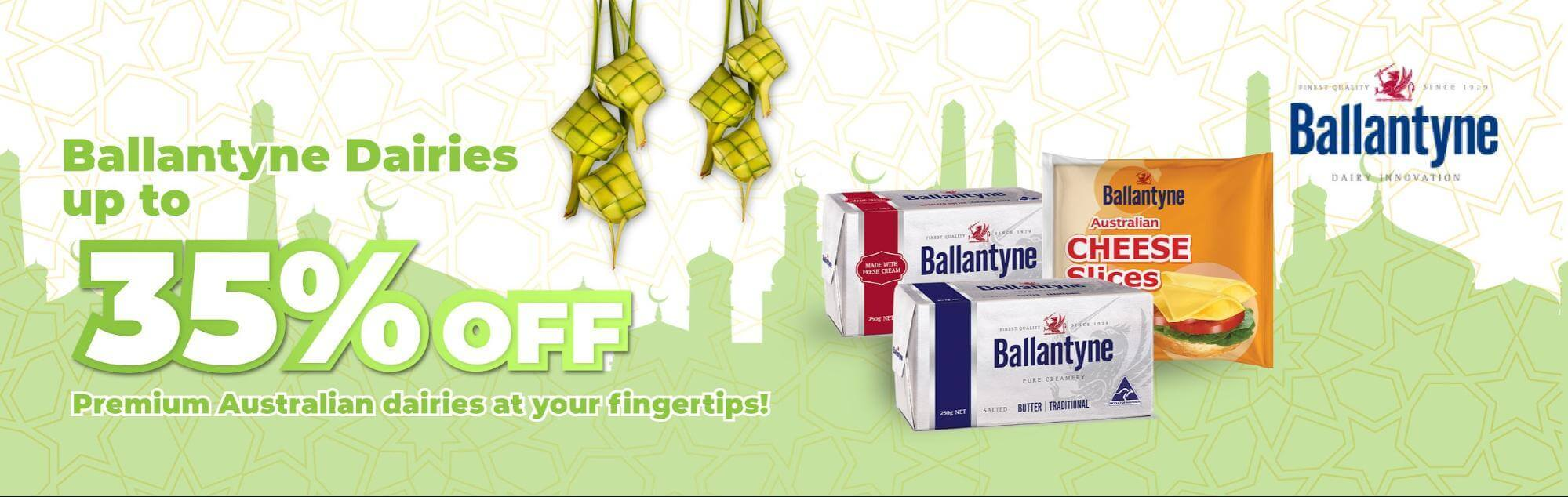 Ballantyne promo up to 35% off