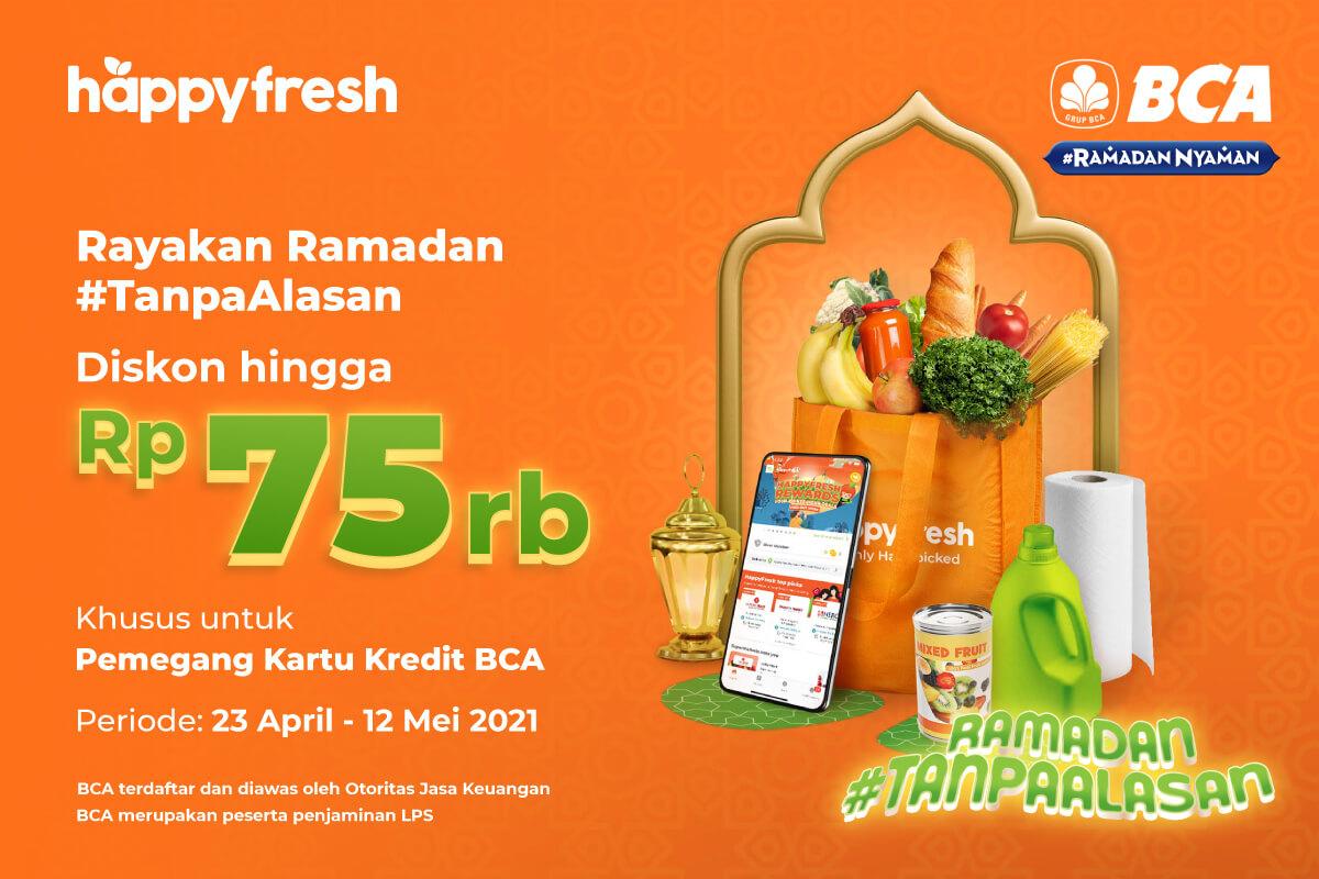 HappyFresh - BCA Ramadan Promo 2021