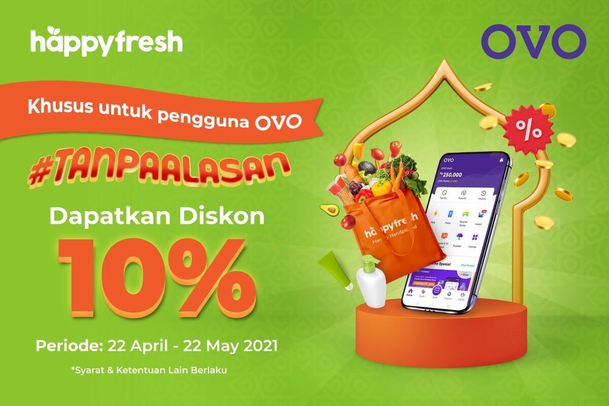 HappyFresh - OVO Ramadan Promo 2021