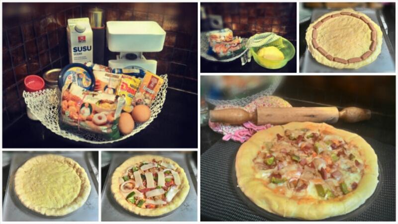 membuat pizza tanpa oven Resep Indonesia CaraBiasa.com